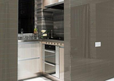 Urban-Textures-Gray-Shiny-Kitchen