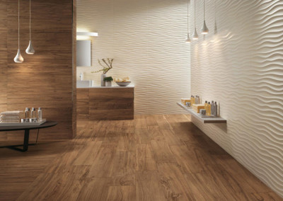 Atlas Concorde Axi Wood Look with 3D Textured Wall