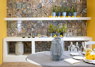 Del Conca Corti Di Canepa Mix Backsplash