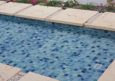 KTL Fiji Aqua Mosaic Pool Scene