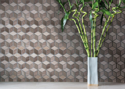 Lungarno Natural Elements Cube Mosaic