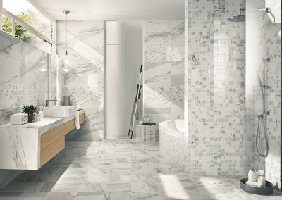 Novabell Imperial Calacatta Bianco Bathroom